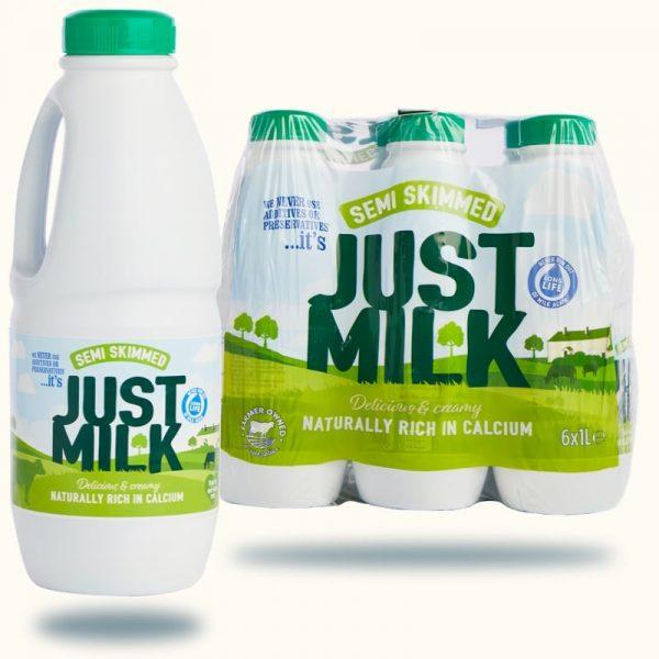Milk - NEW Semi-Skimmed JUST MILK