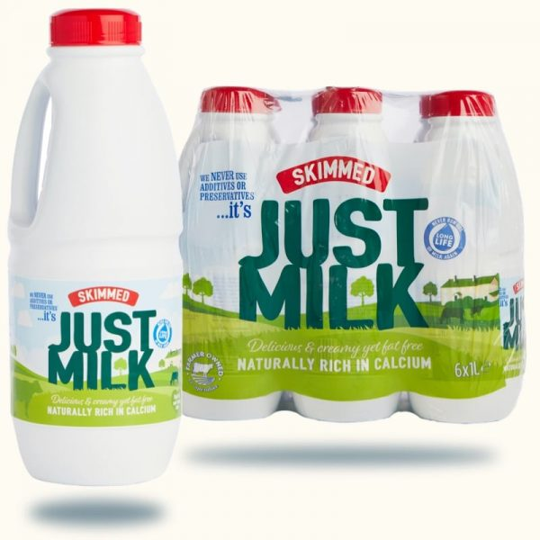 Milk - NEW Skimmed JUST MILK