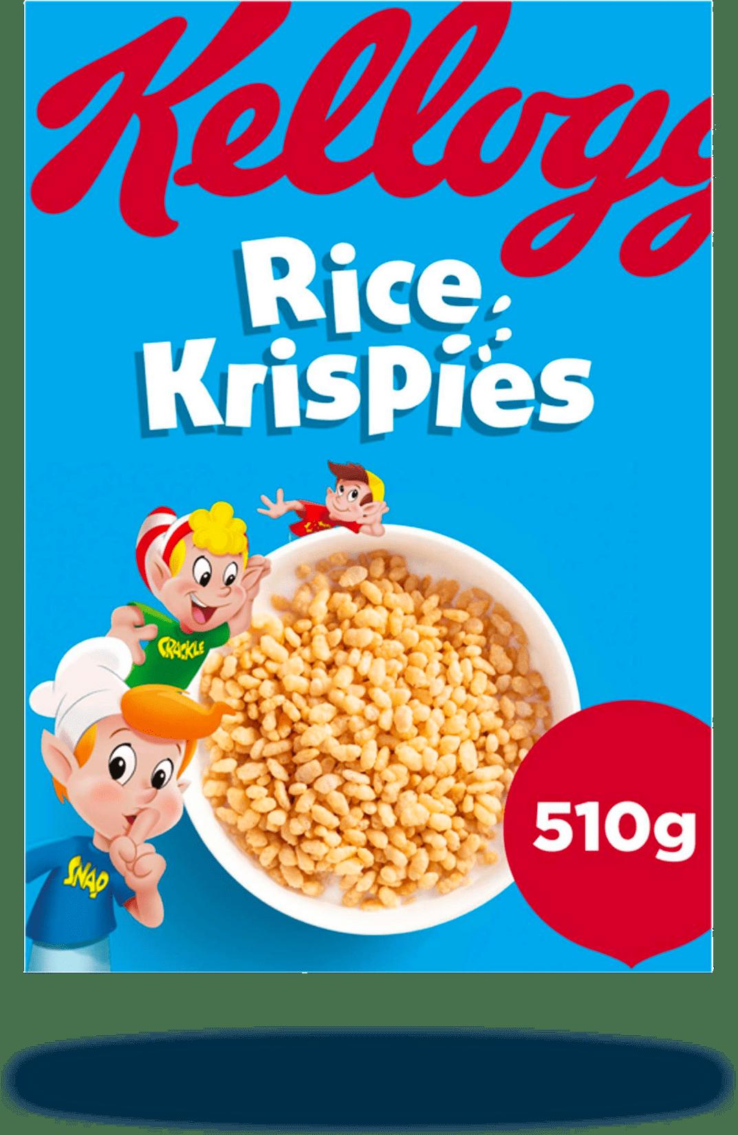 Cereals - Kellogs Rice Crispies 510g