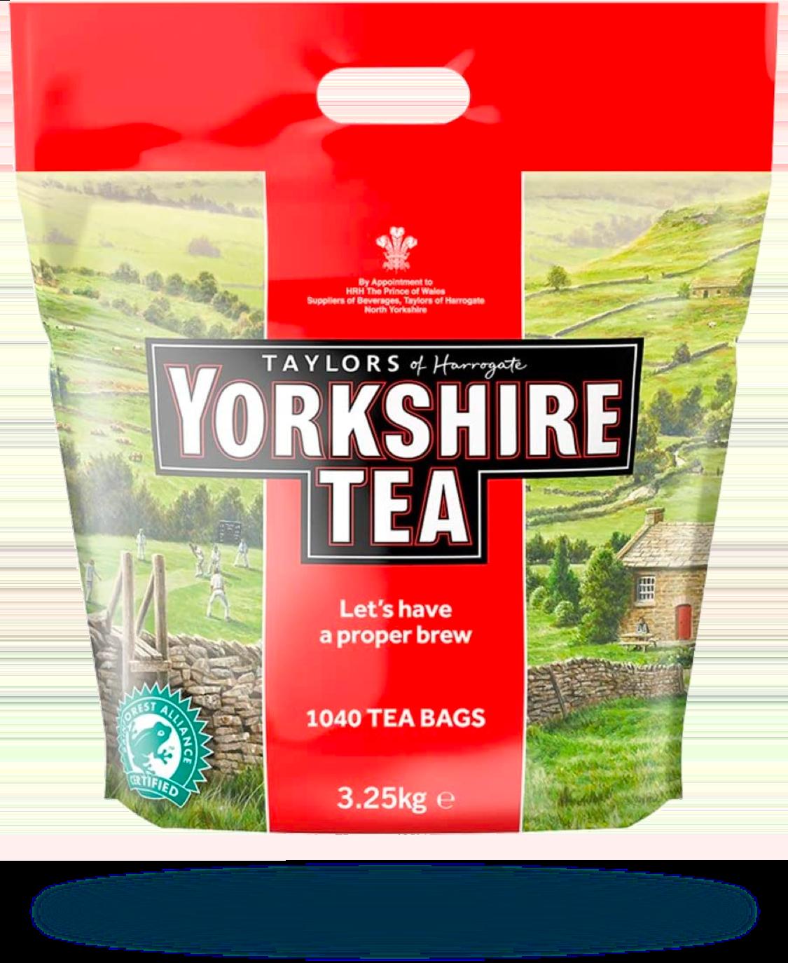 Tea - Yorkshire Tea 1040 Tea Bags