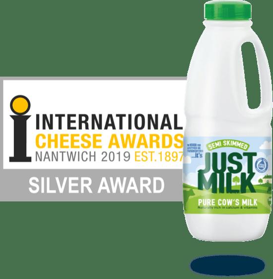 Award Winning Semi-Skimmed JUST MILK