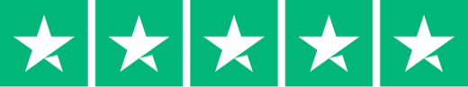 rated 5 stars on trust pilot
