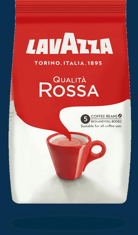 Coffee - Lavazza Qualita Rossa Coffee Beans 1kg