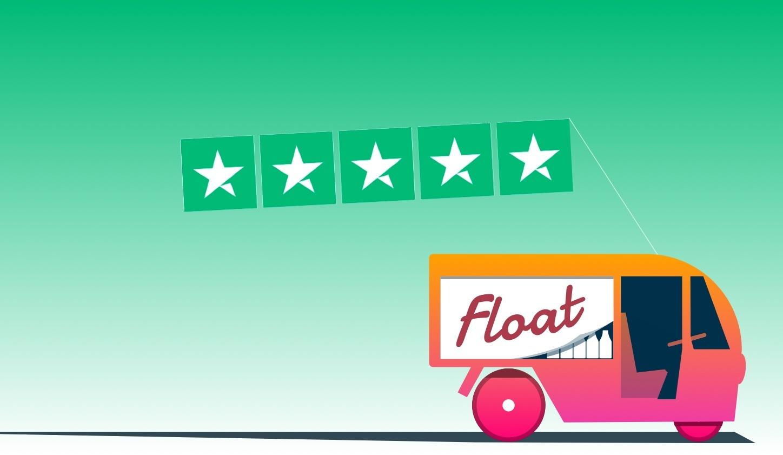Float on Trust Pilot