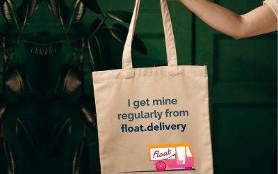 Get your cheeky Float tote