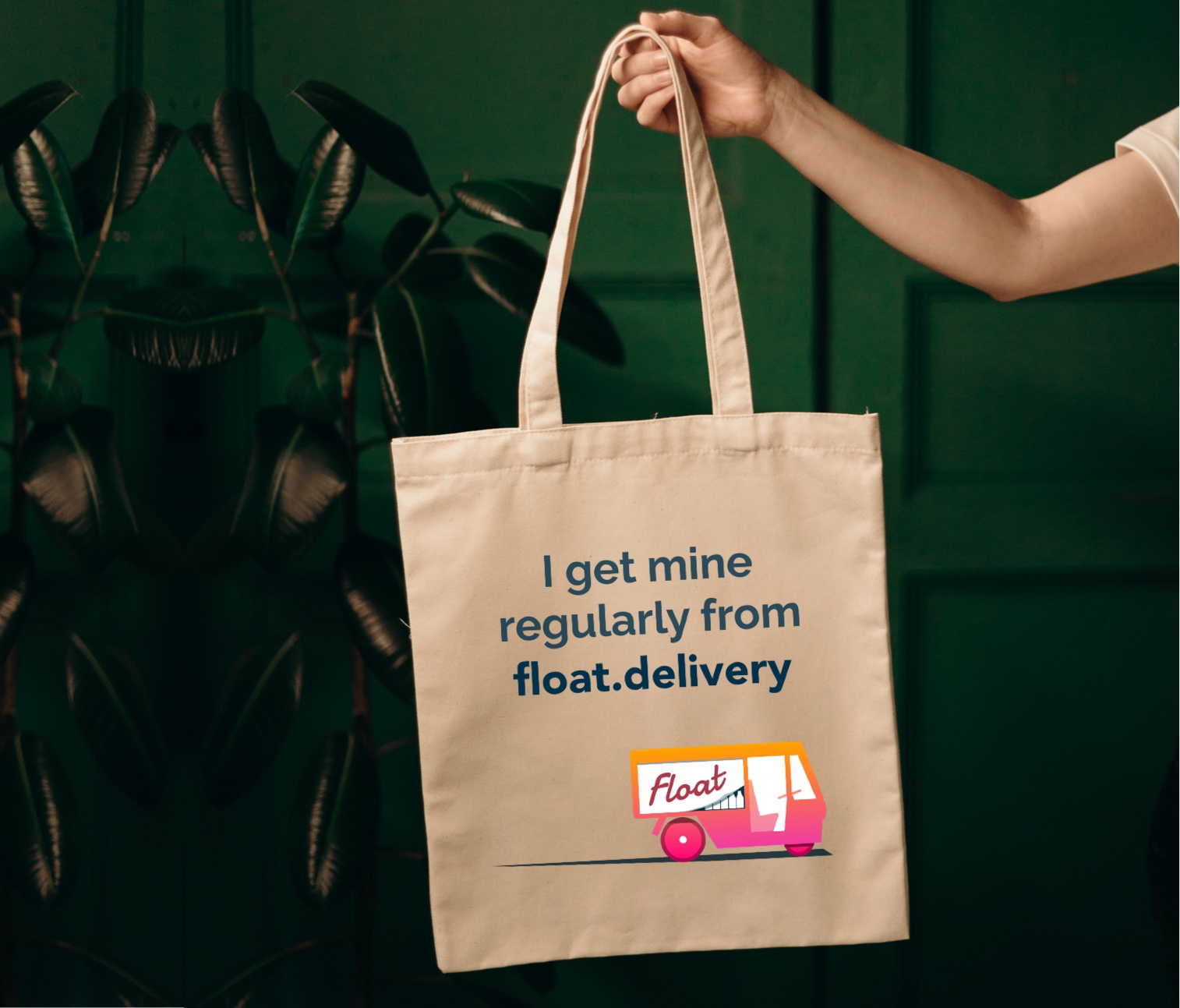 cheeky float tote bags